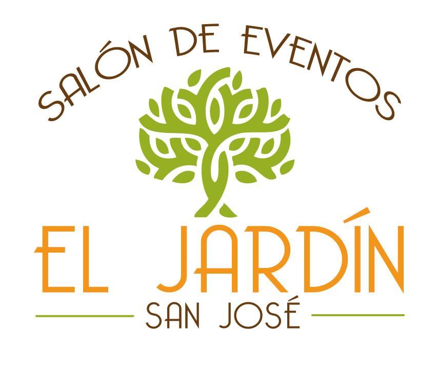 Sal n de eventos el jard n san jos for Logos de jardines